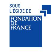 logo sous légide de Fondation de France